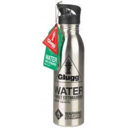 Glugg Water Bottle - Silver test