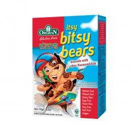 Orgran Itsy Bitsy Bear Biscuits - 175g test
