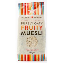 Delicious Alchemy Gluten Free Fruity Muesli - 450g