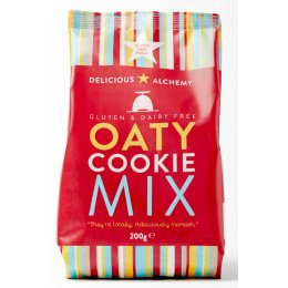 Delicious Alchemy Gluten Free Oat Cookie Mix - 200g