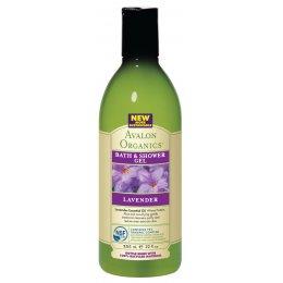 Avalon Organics Bath & Shower Gel - Lavender - 355ml test