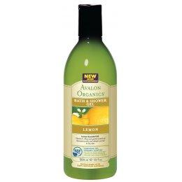 Avalon Organics Bath & Shower Gel - Lemon - 355ml test