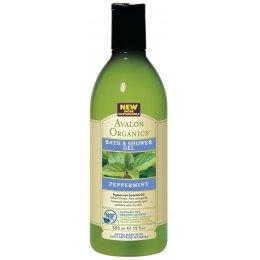 Avalon Organics Bath & Shower Gel - Peppermint - 355ml test