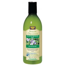 Avalon Organics Bath & Shower Gel - Rosemary - 355ml test