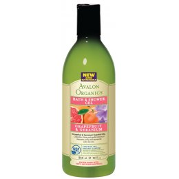 Avalon Organics Bath & Shower Gel - Grapefruit & Geranium - 355ml test