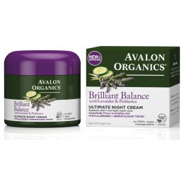 Avalon Organics Ultimate Night Cream - 50g