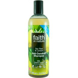 Faith in Nature Anti-Dandruff Shampoo - Lemon & Tea Tree - 400ml