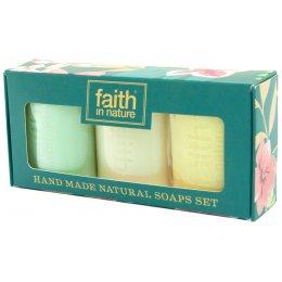 Faith in Nature Handmade Soap Gift Set test