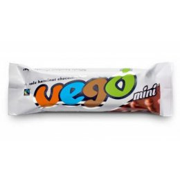 Vego Mini Whole Hazelnut Chocolate Bar - 65g