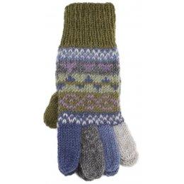 Finsterre Knitted Gloves - Olive test