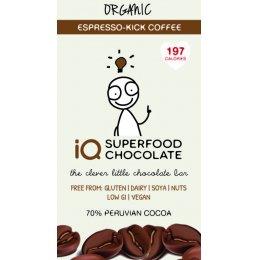 IQ Superfood Espresso Coffee Raw Chocolate - 35g test
