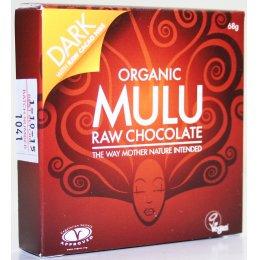 Mulu Dairy Free Dark with Cocoa Nibs Raw Chocolate - 68g test