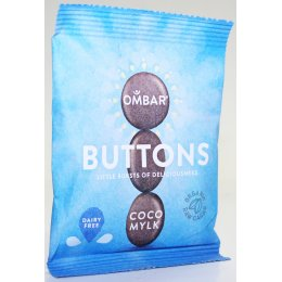 Ombar Raw Chocolate Coco Mylk Buttons - 25g