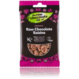 The Raw Chocolate Co Chocolate Coated Raisins Snack Pack - 28g