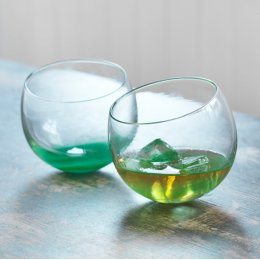 Rocking Tumbler Glasses - Set of 2