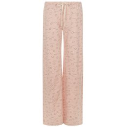 People Tree Cloud Print Pyjama Trousers - Pink