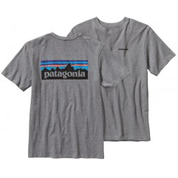 Patagonia Logo T-Shirt - Gravel test