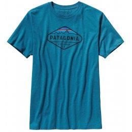 Patagonia Fitz Roy Crest T-Shirt - Blue test