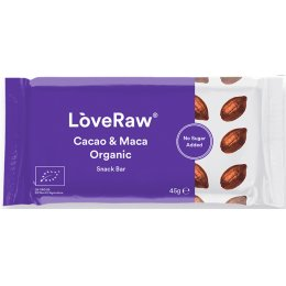 Love Raw Cacao & Maca Superfood Energy Bar - 48g