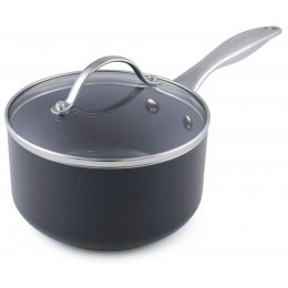 GreenPan Venice Induction Covered Saucepan - 20cm