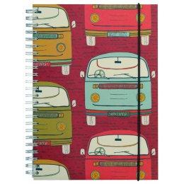 Campervan Wide Ruled Notebook - A5 test