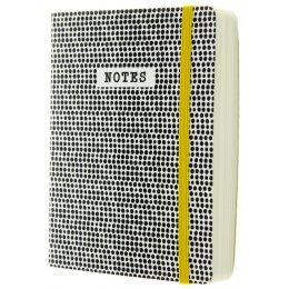 Monochrome Dots Notebook - A6 test
