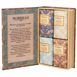 Morris & Co. Strawberry Thief Guest Soaps 4 x 50g test