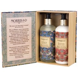 Morris & Co. Strawberry Thief Hand Wash & Lotion Duo -2 x 300ml