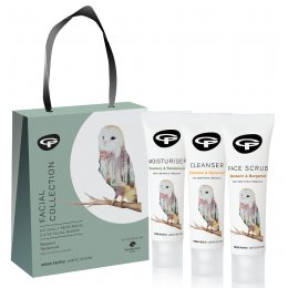 Green People Facial Care Collection Gift Set - 3 x 30ml test