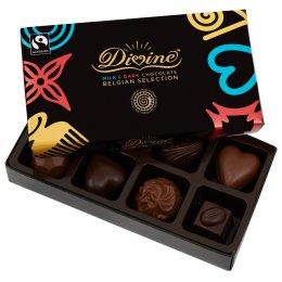 Divine Milk & Dark Chocolate Selection - 113g test