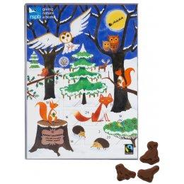 Divine RSPB Milk Chocolate Advent Calendar test