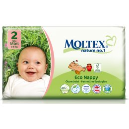 Moltex Nature Disposable Nappies - Mini - Size 2 - Pack of 42