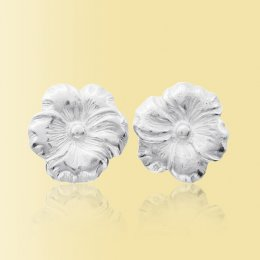 Mosami Pansy Thinking Of You Stud Earrings