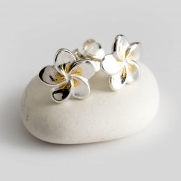 Mosami Frangipani Loyalty Stud Earrings