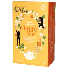 English Tea Shop Organic Happy Me Tea - 20 Bags - Sachets