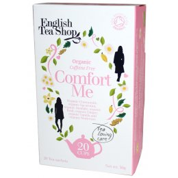 English Tea Shop Organic Comfort Me Tea - 20 Bags - Sachets