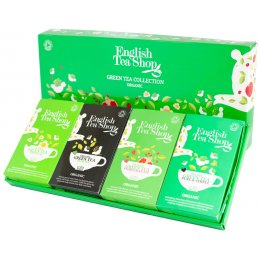 English Tea Shop Organic Green Tea Collection - 60 Bags - Sachets