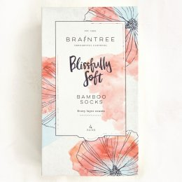 Braintree Womens Bamboo Socks Gift Box - Summer