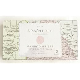 Braintree Mens Bamboo Boxer Briefs Gift Box