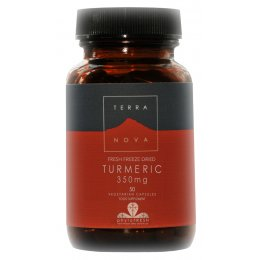Terranova Vegan Organic Turmeric Root Supplement 350mg - 50 Capsules