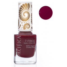 Pacifica 7 Free Vegan Nail Polish - Red Red Wine - 13.3ml