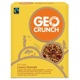Geo Crunch Luxury Granola 350g