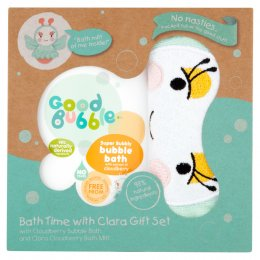 Good Bubble Bath Time With Clara Gift Set