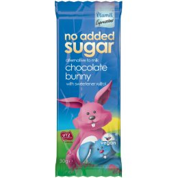 Plamil No Added Sugar & Dairy Free Chocolate Bunny Bar - 30g
