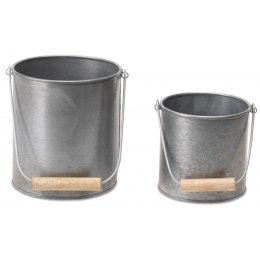 Morro Metal Pots - Set of 2