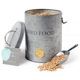 Sophie Conrans Galvanized Bird Food Tin