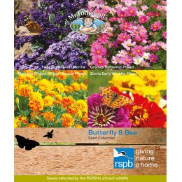 Mr Fothergills RSPB Seed Mix - Butterfly & Bee attracting Collection