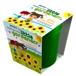 Johnsons Little Gardeners Grow Pot - Mini Sunflower