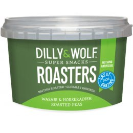 Dilly & Wolf Roasters Peas - Wasabi & Horseradish - 100g