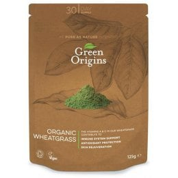 Green Origins Organic Wheatgrass Powder - 125g